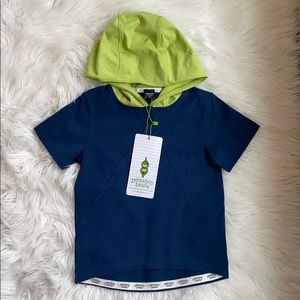 Peekaboo Beans hooded t-shirt - size 5 years